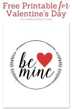 be mine valentine's