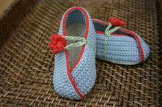 Escarpines en Crochet