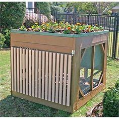 Another green roof chicken coop