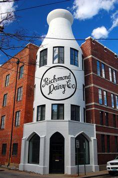 Milk Bottle Building :: Richmond, VA