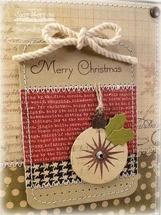 Rustic Christmas card