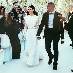The Kimye wedding! S