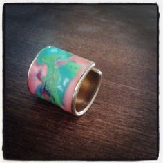 craft idea, drool ing, colour ring