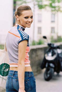 Vanessa Jackman: Paris Couture Fashion Week AW 2013....Mila