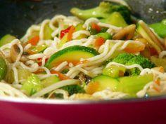 Veggie So Low Mein Recipe : Food Network - FoodNetwork.com