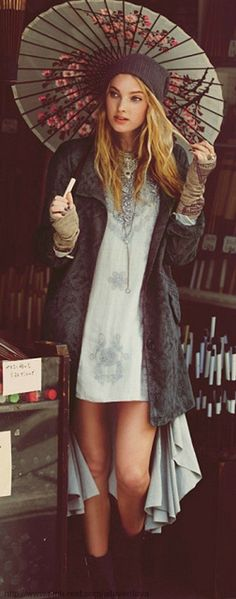 black cardigan, lace floral dress