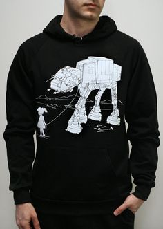 My Star Wars ATAT Pet  Mens hoodie / Unisex by EngramClothing, $40.00