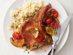 Jazzed-Up Pork Chops #FNMag