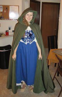 Happily Grim - Finished Hobbit Costume