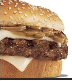 Hardees Mushroom Swiss Burger Recipe