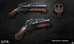 Sawed-off Shotgun from Batman: Arkham Origins