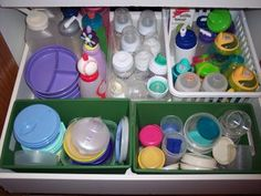 Establishing limits and boundaries with containers! : I'm an Organizing Junkie