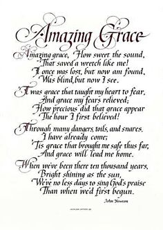Amazing Grace - How Sweet the Sound!