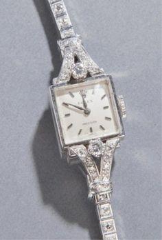 Lady's Rolex wrist watch c.1940s.