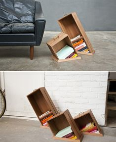 old drawers reuse