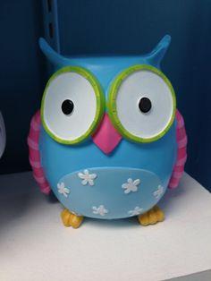Personalize Owl Vase Personalized Owl Pencil Holder Owl Decor