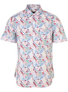 Topman printed shirt