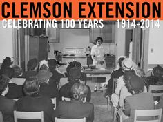 Cooking demonstration. Image from Clemson University Special Collections. #ClemsonExt100