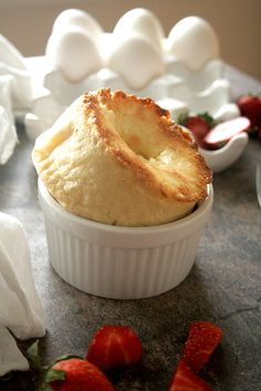 """Cheesecake Popovers ~ Oh My! Also """"Chocolate Chip Cookie Popovers, Cinnamon Roll Popovers, etc. etc. etc. More popover recipes than I've ever seen before on this site!"""