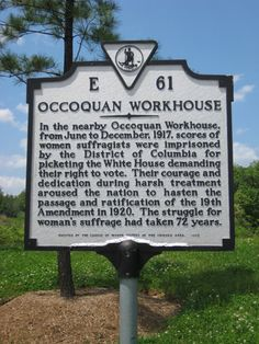 Occoquan Workhouse - site of one of the most significant moments of the 19th Amendment abandon prison, virginia gem, admir women, upcom trip