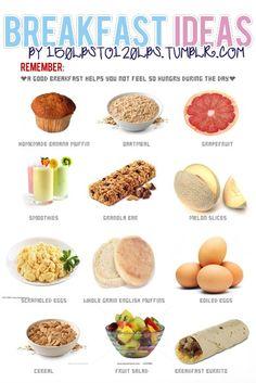 healthy breakfast ideas <3
