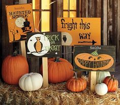 Halloween signs