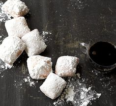 You will love these simple and sweet Nutmeg Beignets!