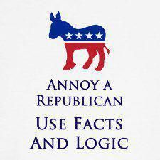 Republicans have a right to their own opinion, but not to their own facts-