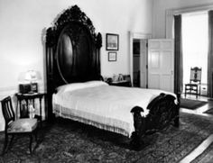 Abraham Lincoln's ghost has been the single most reported sighting and it is no wonder when you consider his time as a resident in the White House. His son, Willie died in the bed that is in the Lincoln bedroom, his wife, Mary Todd Lincoln regularly held seances in the White House and Lincoln's life was tragically and violently cut short by an assassin's bullet. Lincoln himself is reported to have had some psychic ability as evidenced in his prophetic dream of his own assassination. *s*
