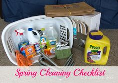 My Spring Cleaning Checklist | Organize 365