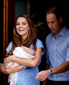 Wills and Kate and the Baby!
