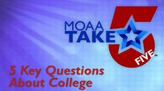 5 Key Questions About College from MOAA - MilitaryAvenue.com