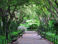 Central Park Conservatory Garden from slowlovelife.com