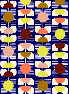SS12 Square Flower Print in Multi