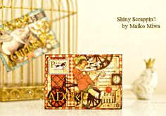Imaginarium Designs: ATC cards from Japan by Maiko #graphic45