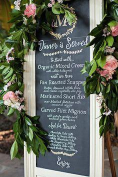 The prettiest menu s