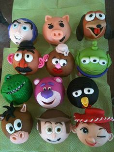 toy story cupcakes love these