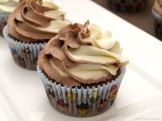 Cupcakes de cacao y mascarpone - MisThermorecetas