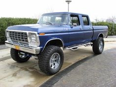 1978 Ford Show Truck Crew Cab 4X4. Ultimate family truck