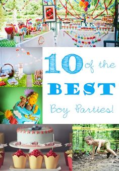10 of the Greatest Boy Parties @ One Sweet Appetite
