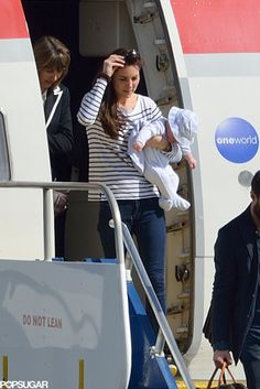Kate Middleton and Prince George travel in style :)