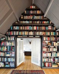 Creative Uses For Attic Space- LOVE this!!