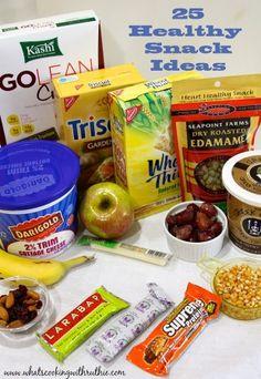 25 Healthy Snacks