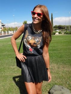 T-shirt tiger!! Paula Echevarria
