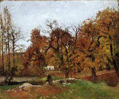 Camille Pissarro | outono em Eragny