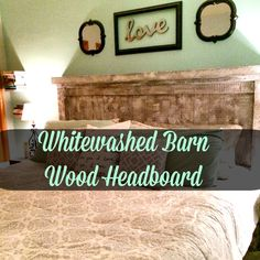 Whitewashed Barn Woo