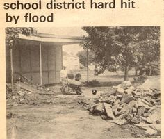 Hurricane Agnes - June 1972 - Kingston, PA
