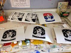Lane Tech Art Studio : learning to understand the art world