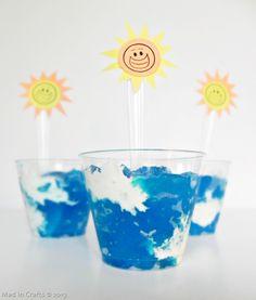 Summer Skies Jello Snack