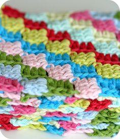 diagonal crochet stitch